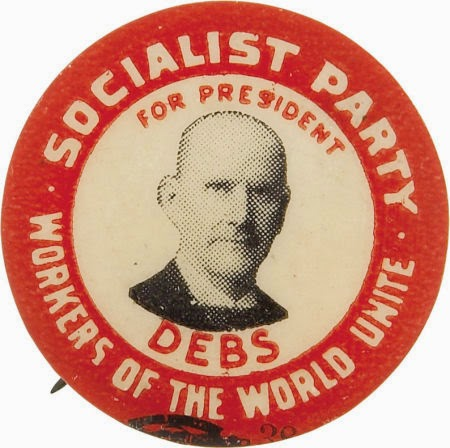 Image result for eugene debs iww
